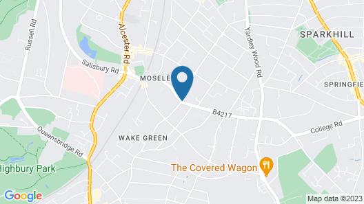Wake Green Lodge Hotel Map