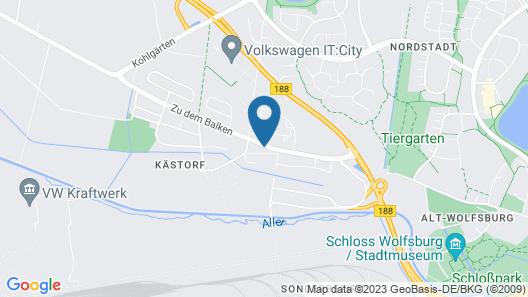 Hotel Restaurante la Dolce Vita Map