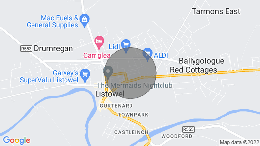 Grogan's Cottage Map