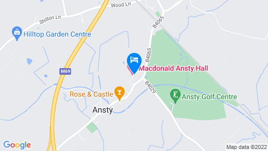 Macdonald Ansty Hall Map