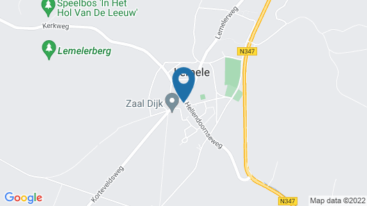 Scenic Villa in Lemele With Garden and Parking Map