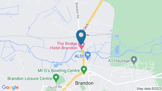 Brandon House Hotel Map