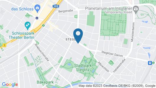 Greystay Apartments Steglitz Map