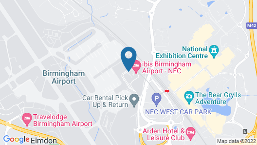 Novotel Birmingham Airport Map