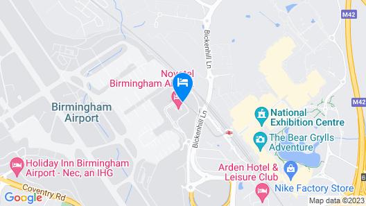 ibis Birmingham International Airport – NEC Map