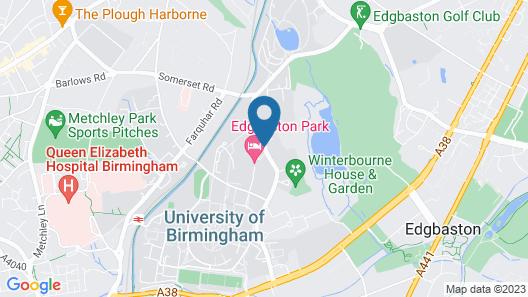 Peter Scott House, Birmingham Map