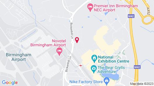 ibis Styles Birmingham NEC and Airport Map