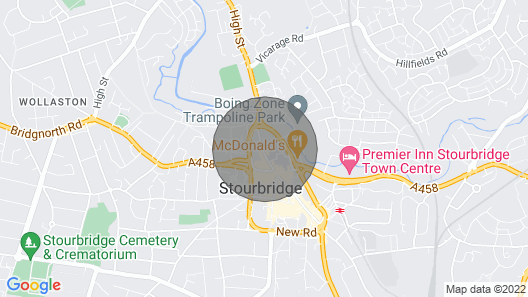 Shayan Studio Flats Stourbridge Map