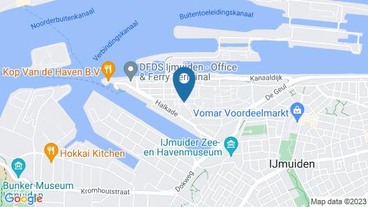 Augusta Hotel & Restaurant Map