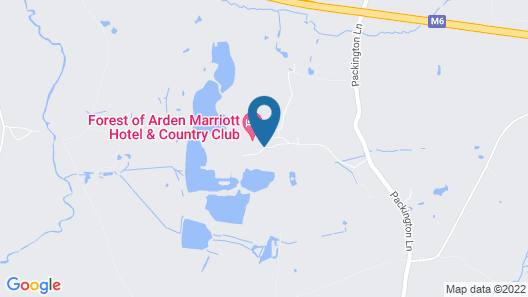 Forest of Arden Marriott Hotel & Country Club Map
