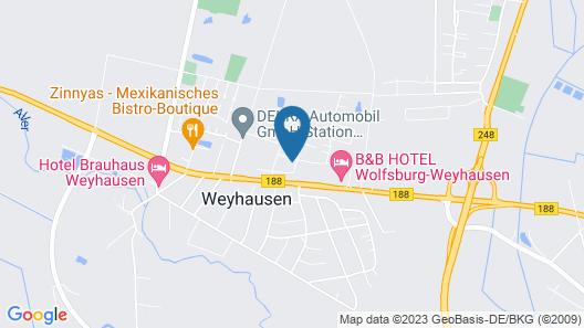 B&B Hotel Wolfsburg-Weyhausen Map