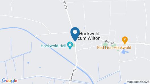Hockwold Hall Map