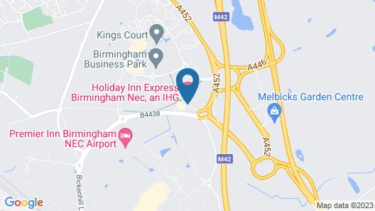 Holiday Inn Express Birmingham NEC Map