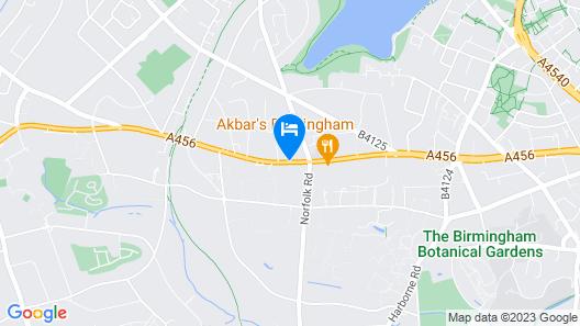 Collection Hotel Birmingham Map