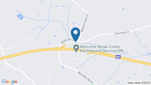 Days Inn by Wyndham Corley NEC M6 Map