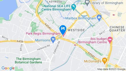 Park Regis Birmingham Map