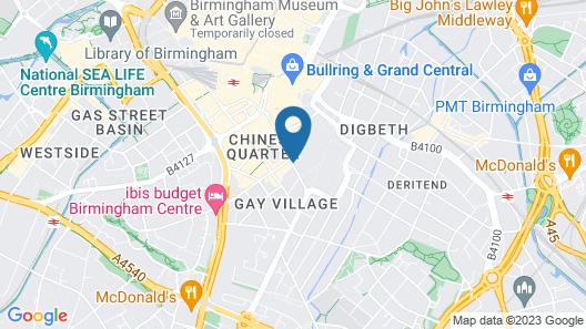 Charles Hope Apartments Birmingham Map