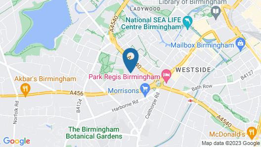Beautiful City Centre Apartment Map