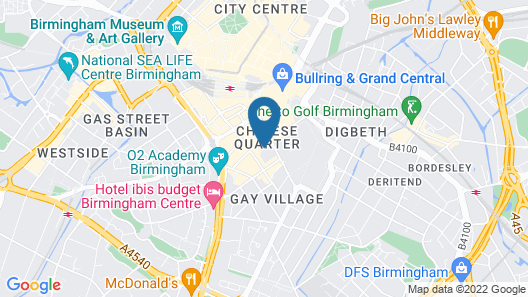 Staycity Serviced Apartments - Arcadian Centre Map