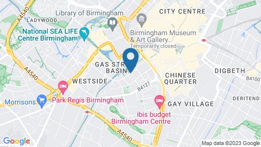 AC Hotel by Marriott Birmingham Map