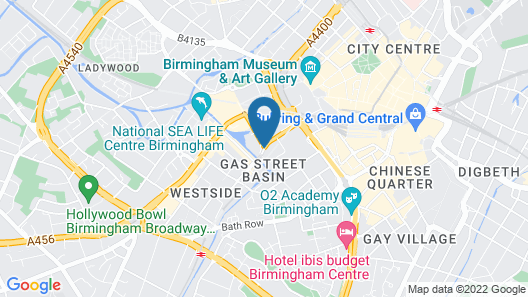 nitenite cityhotels, Birmingham Map