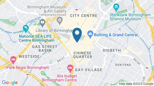 Comfort Inn Birmingham Map