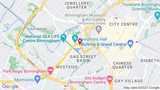 Hyatt Regency Birmingham Map