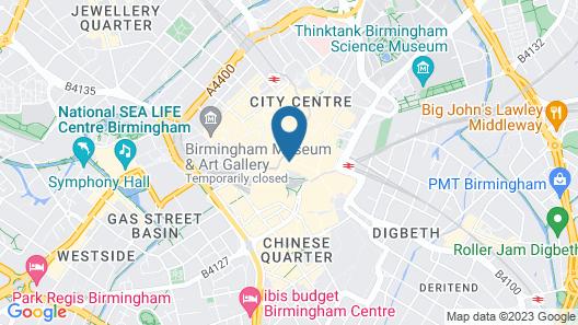 Britannia Hotel Birmingham New Street Station Map