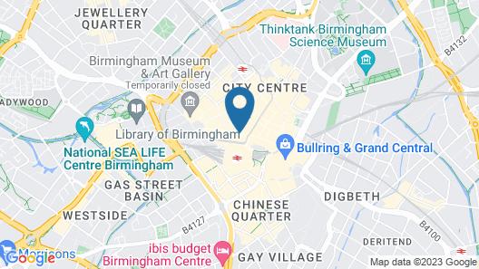 Macdonald Burlington Hotel Map
