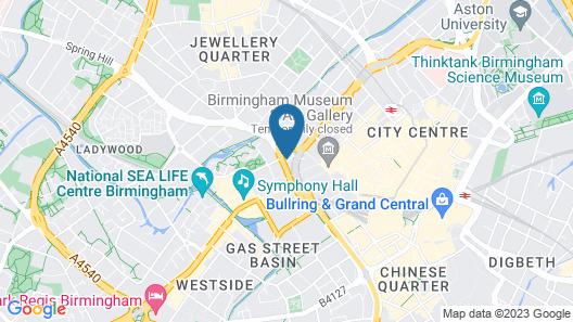 Copthorne Hotel Birmingham Map