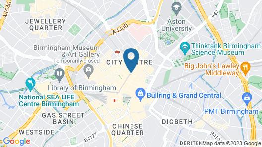Staybridge Suites Birmingham Map