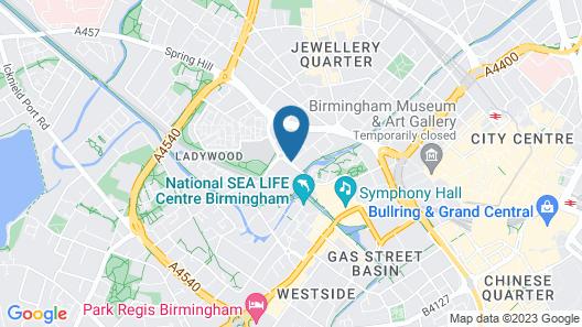 City Nites Birmingham Map