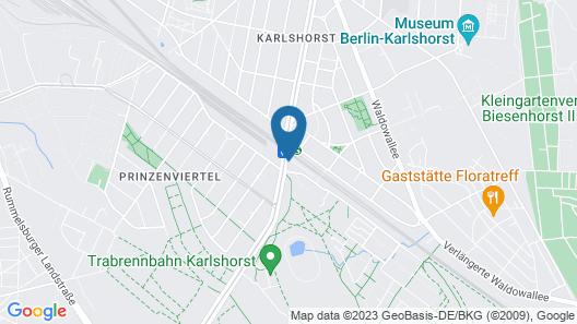 SMARTments business Berlin Karlshorst Map