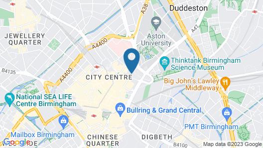Tudors eSuite Grand Central Aparthotel Map
