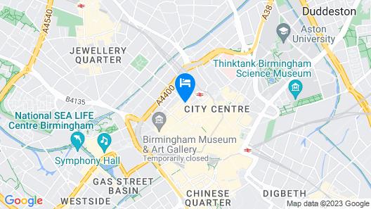 Hotel du Vin & Bistro Birmingham Map