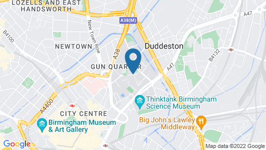Conference Aston Hotel Map