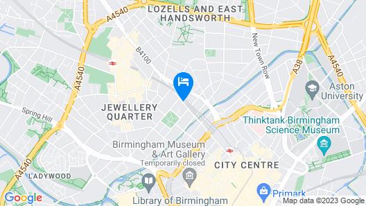 Selina Birmingham Map