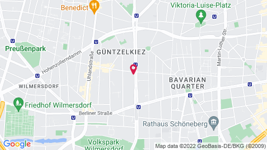 TWO Hotel Berlin by Axel - Adults Only Map