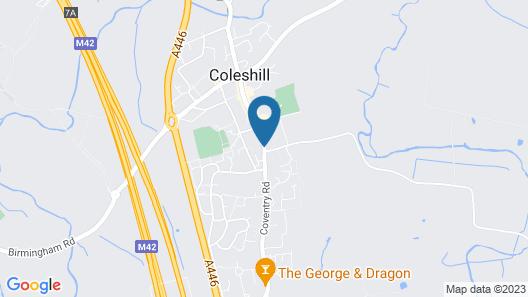 Coleshill Hotel by Greene King Inns Map
