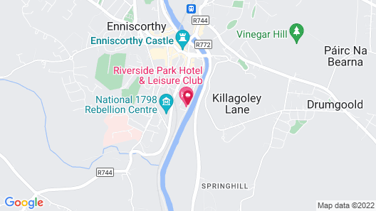 Riverside Park Hotel and Leisure Club Map
