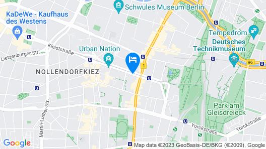 Novum Hotel Aldea Berlin Centrum Map