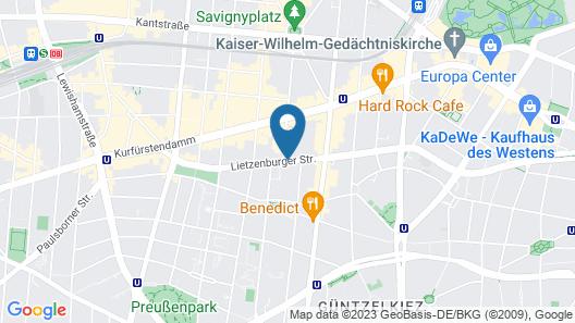 Aparthotel Adagio Berlin Kurfürstendamm Map
