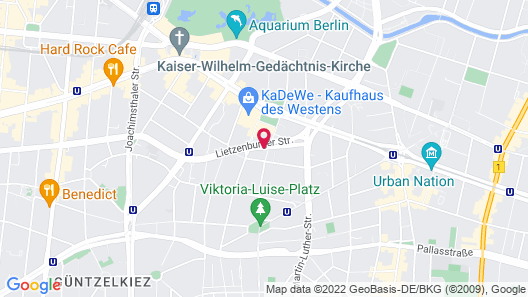 Axel Hotel Berlin - Adults Only Map