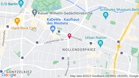 Hotel Riu Plaza Berlin Map