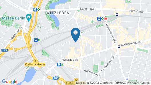 Aspria Berlin Ku damm Map