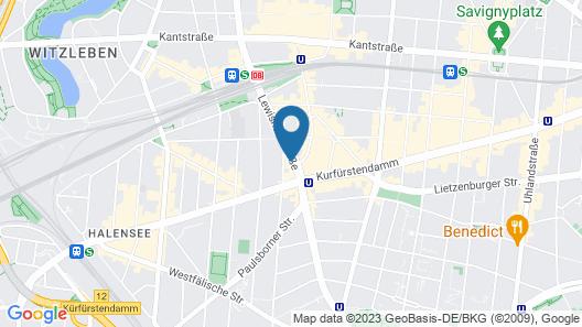 Hotel Panorama Am Adenauerplatz Map