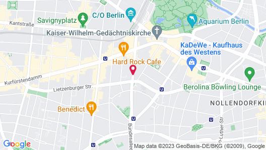 Amc Apartments Ku Damm Map
