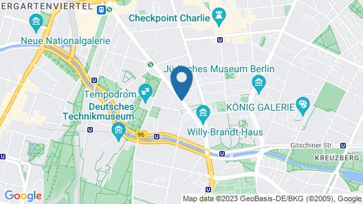 Holiday Inn Express Berlin City Centre Map