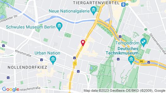 arabel Design Apartments Berlin Map