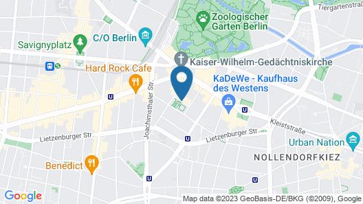 Steigenberger Hotel Berlin Map